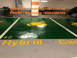 Hybrid car lot