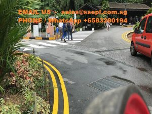 chlorinated rubber paint for road marking