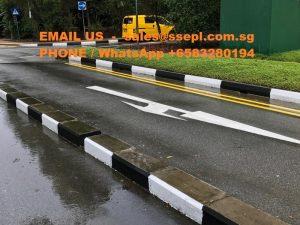 road divider marking Singapore