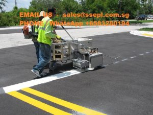 thermoplastic paint laying contractor Singapore