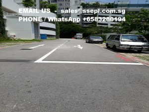 thermoplastic road marking paint contractor Singapore