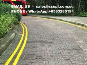 thermoplastic road marking paint works